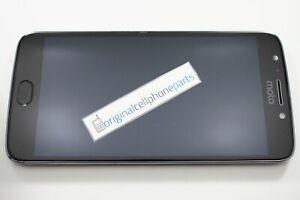 OEM Motorola E4 Plus XT1775 LCD Digitizer Frame USED ORIGINAL BLACK