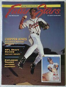 Beckett Focus On Future Stars-Chipper Jones-July 1993 No. 27