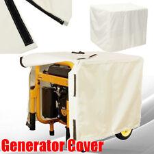 Off-white Universal Waterproof Generator Cover For Generators 5000 to 9500 Watt