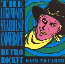The Legendary Stardust Cowboy : Retro Rocket + Rides again [CD, New Rose] VG