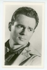 Movie star LARRY PARKS. Real Photo Postcard
