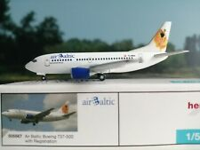 Herpa Wings 1:500 505567 | 4013150505567 Air Baltic Boeing 737-500 YL-BBA