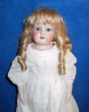 Antique 1890 German Bisque Lg 24in AM Armand Marseille 370 Doll Whitewear DO29