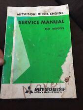 Mitsubishi NM models Diesel Engine Shop Service Repair Manual Book
