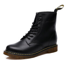 Men's Women's Dr Martens Shoes 8-Eye Classic Airwair 1460 Leather Ankle Boots