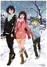 "Anime Wall Calendar 2020 (12 pg 8""x11"") NORAGAMI Falce Love Manga Art A3-8629"