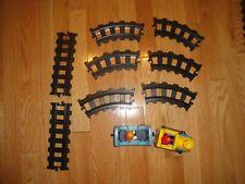 Vintage Playmobil 123 Train Set  Geobra 1990's