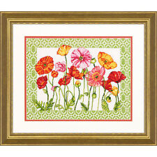 Dimensions Poppy Pattern Counted Cross Stitch Kit