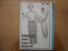 Patron Patroon JUPE 1984 Femmes d'aujourd'hui 40 MODE vintage