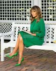 """FIRST LADY MELANIA TRUMP READS """"THE LITTLE RABBIT"""" FOR EASTER 8X10 PHOTO (BT315)"""