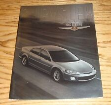 Original 2002 Chrysler Sebring Deluxe Sales Brochure 02