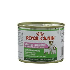 Tin 195g Royal Canin STARTER MOUSSE MOTHER & MIXTURES dogs puppies and mothers