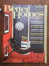 Better Homes And Gardens Magazine November 1967 Mid Century Ideas!