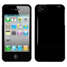 NEW BLACK HARD SHELL SKIN CASE COVER FOR iPHONE 4 4G 4S