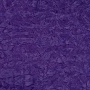 Indonesian Batik, Blue-Violet Purple Tone-on-Tone, Cotton, Per 1/2 Yd