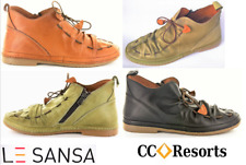 Soft leather flat boots with tie - Le sansa by CC resorts Lola