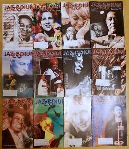 Jazz Podium 2000 komplett Jahrgang Zeitschrift Musik Magazin Sammlung Hefte