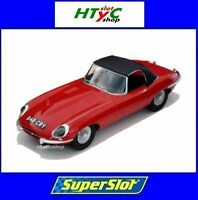 SUPERSLOT JAGUAR E-TYPE 848CRY ROJO THE ITALIAN JOB SCALEXTRIC UK H4032