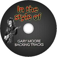 GARY MOORE IN THE STYLE OF GUITAR BACKING TRACKS CD BEST GREATEST HITS BLUES