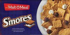 Malt O Meal Smores Cereal 30 oz Bag