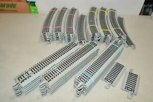 HO scale Bachmann EZ track nickel silver lot USED curved straight