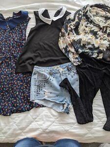 Ladies clothes bundle size 10 (5 items) Topshop River Island