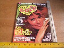 1968 Teen Love Stories #3 Magazine Hayley Mills Swinger comics VF NICE