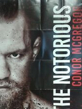 CONOR McGREGOR THE NOTORIOUS LIMITED EDITION A2 POSTER