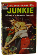 Junkie ~by William Lee / S. Burroughs ~ 1st Edition ACE D15 Junky Narcotic Agent