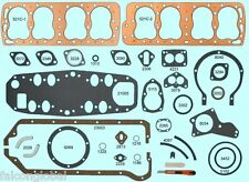 Ford/Mercury 239 255 Flathead Full Engine Gasket Set/Kit BEST w/COPPER 1948*-53