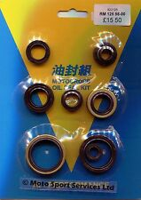 Engine Oil Seal Kit Suzuki RM125 RM 125 1998 to 2000 Mitaka 125