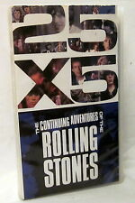 (S) - VHS - 25 X5 - The Continuing Adventures of the ROLLING STONES