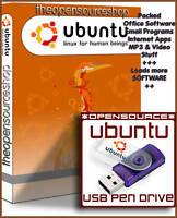Ubuntu Linux 17.10 Artful Aardvar 16GB USB 3.0 Live Bootable Startup Flash Drive