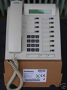 Siemens Hicom Hipath Optiset E Standard Weiss Rechnung Mwst