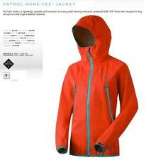 NEW Dynafit Patrol GTX Womens Smalll Orange Gore-tex Shell Ski Jacket Msrp$400