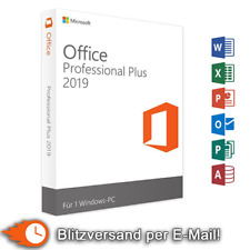 Microsoft Office 2019 Professional Plus MS Office Pro Retail version complète