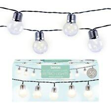 GardenKraft 75000 String Light Bulb Warm 50 LED Party Lights - White