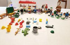 Playmobil Geobra 21 Figure - Vehicle - Accessories - Environment - Animals Lot