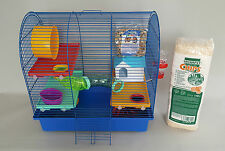 Hamster Mouse Cage With Many Accessories Food Platform House Tube Rodents Bottle