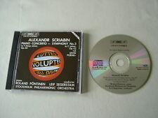 SCRIABIN Piano Concerto/Symphony No. 3 Pontinen Segerstam CD album