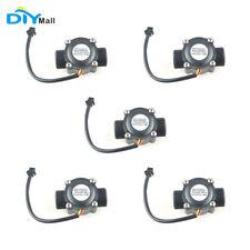 5pcs G34 Water Flow Sensor Switch Flow Meter Flowmeter 34 1 60l Min Diymall