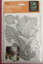 Cuttlebug Dies ~ Seasonal Foliage ~10pc~ Leaves Holly Flower Fern Clover Flower