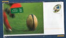 PRET à POSTER -  1 Enveloppe Coupe du Monde Rugby Validité Monde Entier 20 Gr