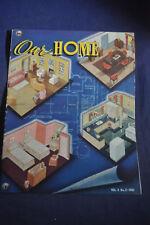 1941 Our Home Magazine by Masonite Advisory Service