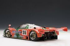 AUTOart 89142 1/18 Mazda 787B Le Mans 1991 Winner #55 Special Edition w/Trophy