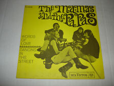 THE MAMAS AND PAPAS 45 picture sleeve ONLY 1966 from Spain RCA Victor Records