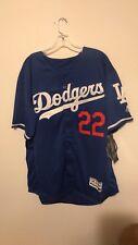 5bd9f70ef Clayton Kershaw Majestic Flex Base Los Angeles Dodgers Jersey Blue 22 Mens  XL