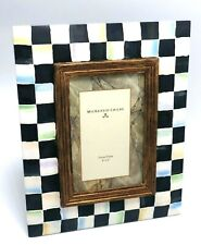 New! $105 MacKenzie-Childs Courtly Check Frame 4x6