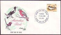 1978 5c BIRD ON PARADE FIRST DAY COVER UNADDRESSED **SCARCE** CMV $85 (RU1862)