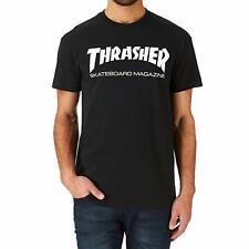 Thrasher T-shirt Skate Mag Black Small
